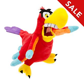 Disney Store Iago Small Soft Toy, Aladdin