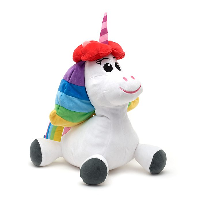Disney Store Rainbow Unicorn Medium Soft Toy, Inside Out