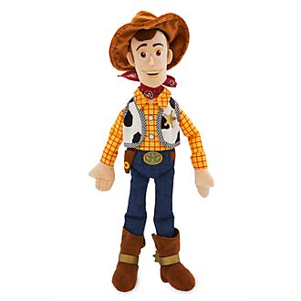 Disney Store Woody Medium Soft Toy