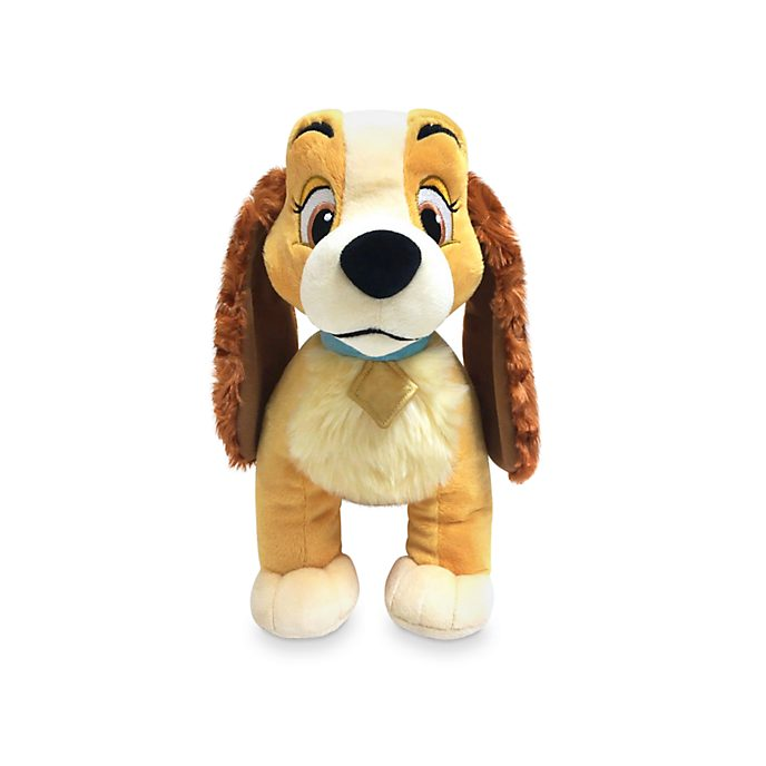 Disney Store Lady Classic Medium Soft Toy