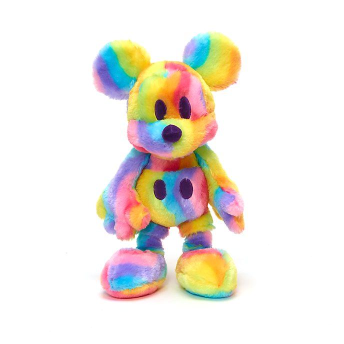 Disney Store Mickey Mouse Rainbow Medium Soft Toy