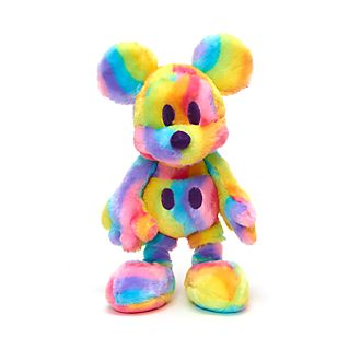 Disney Store Mickey Mouse Rainbow Medium Soft Toy