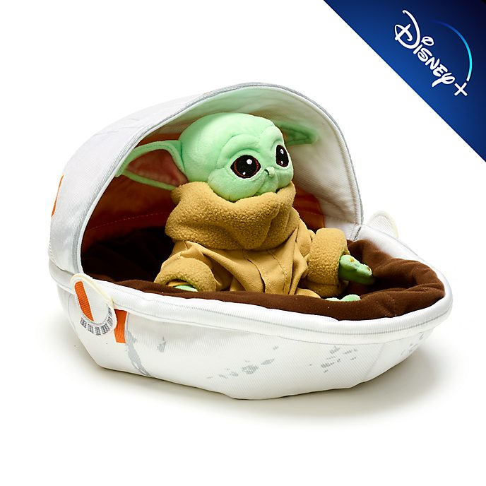 Disney Store The Child in Crib Small Soft Toy, Star Wars: The Mandalorian