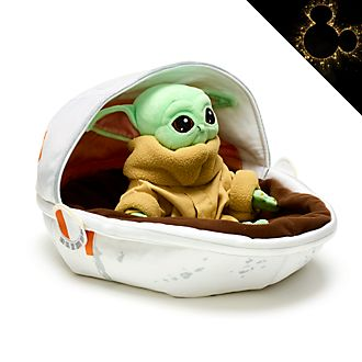 Disney Store - Star Wars: The Mandalorian - Das Kind im Babybett - Kuschelpuppe