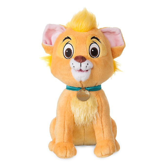 Disney Store Oliver Small Soft Toy