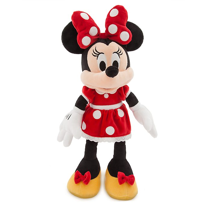 Disney Store - Minnie Maus Red Collection - Kuscheltier (Rot)
