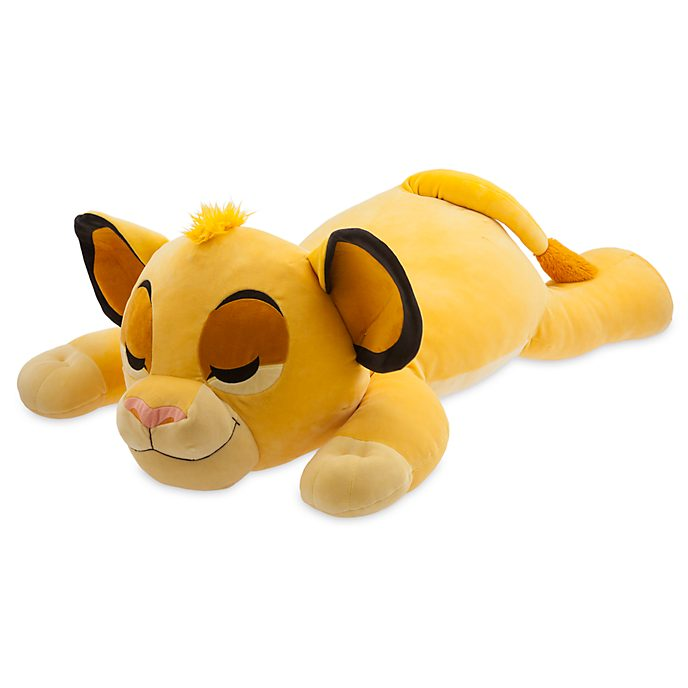 Disney Store Simba Cuddleez Giant Soft Toy