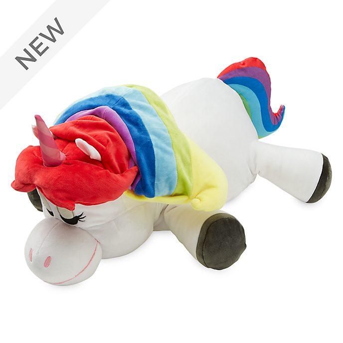 Disney Store Rainbow Unicorn Cuddleez Large Soft Toy