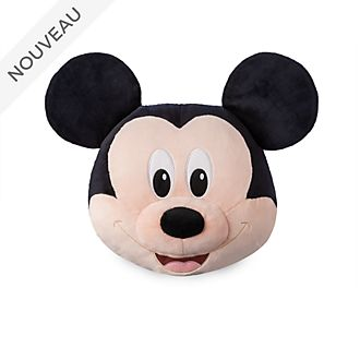 Disney Store Grand coussin visage de Mickey Mouse
