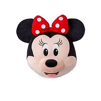 Disney Store Minnie Mouse Big Face Cushion