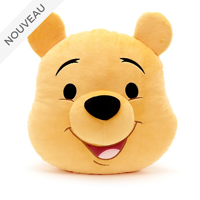 Disney Store Grand coussin visage de Winnie l'Ourson