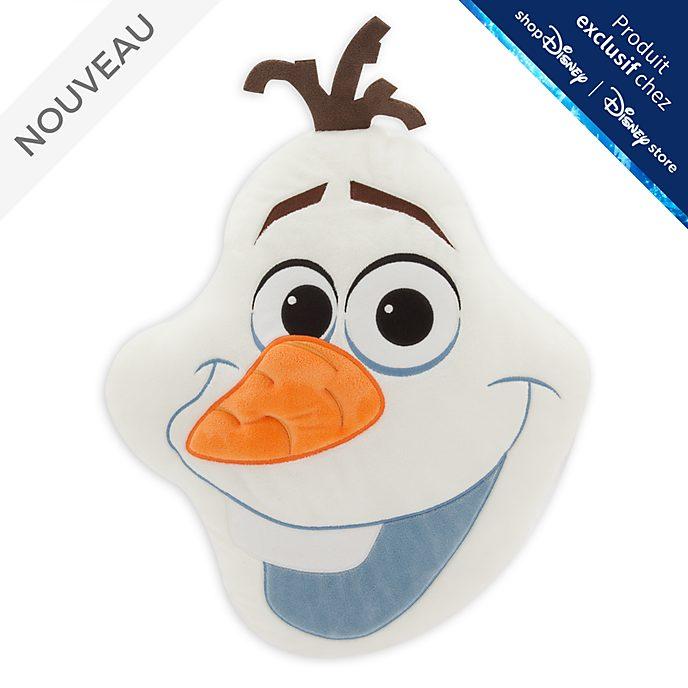 Disney Store Grand coussin visage d'Olaf, La Reine des Neiges