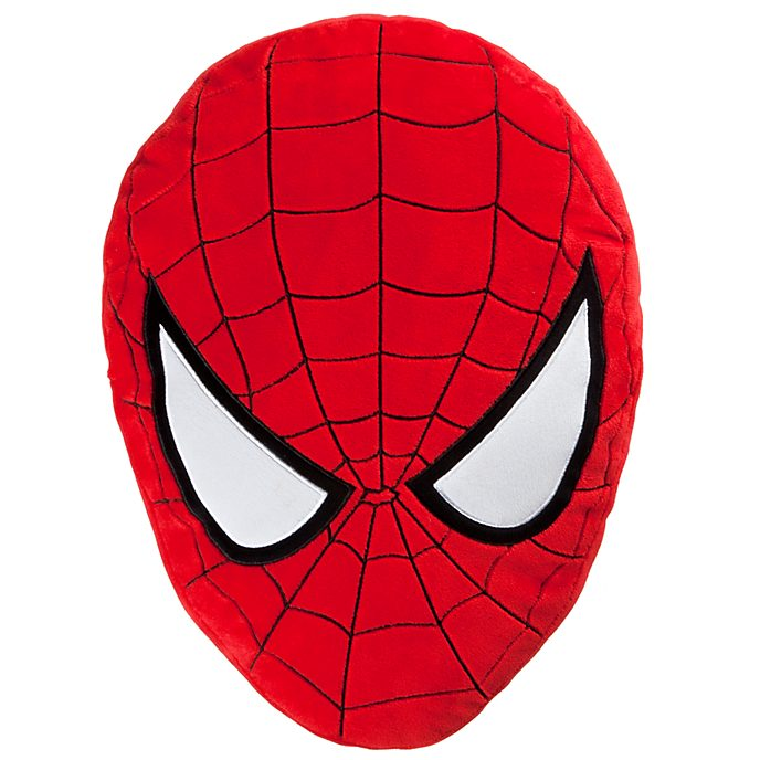 Disney Store Spider-Man Big Face Cushion
