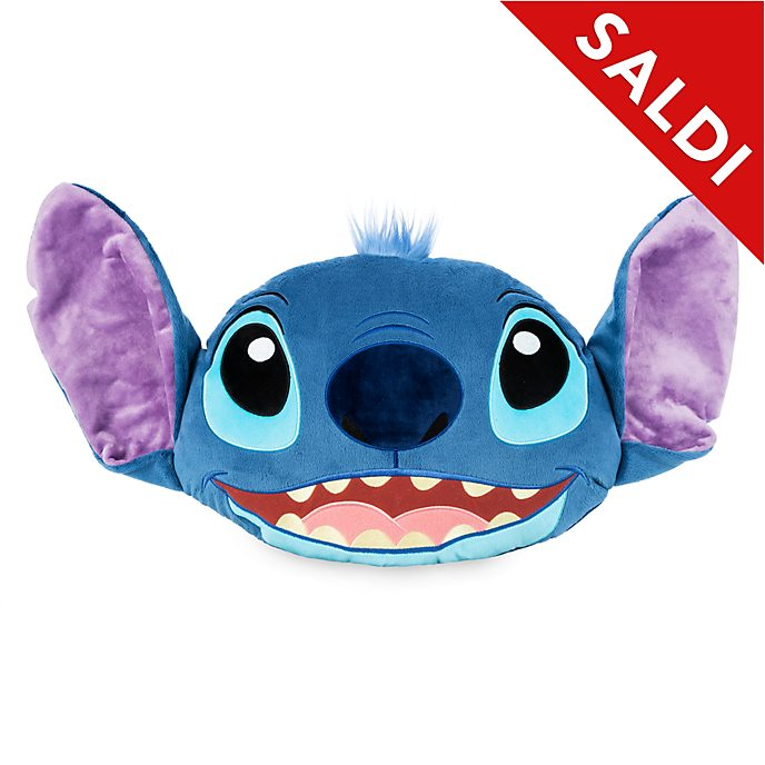 Cuscino con volto Stitch Disney Store