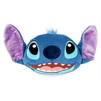 Disney Store Stitch Big Face Cushion