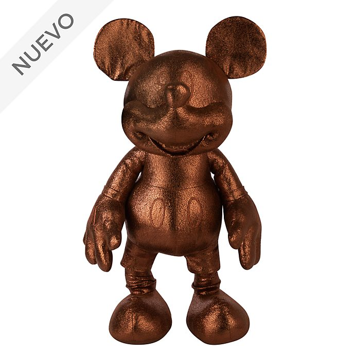 Peluche grande Mickey Mouse, colección bronce, Disney Store