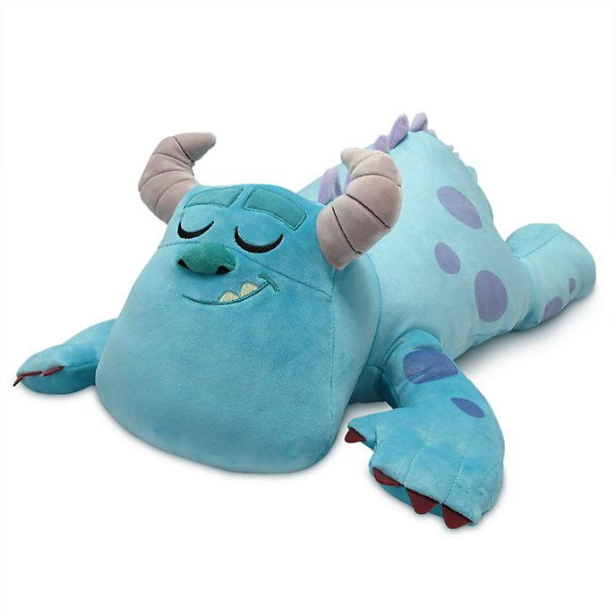 Peluche grande Cuddleez Sulley Monsters & Co. Disney Store