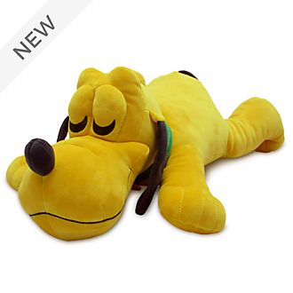 Disney Store Pluto Cuddleez Large Soft Toy