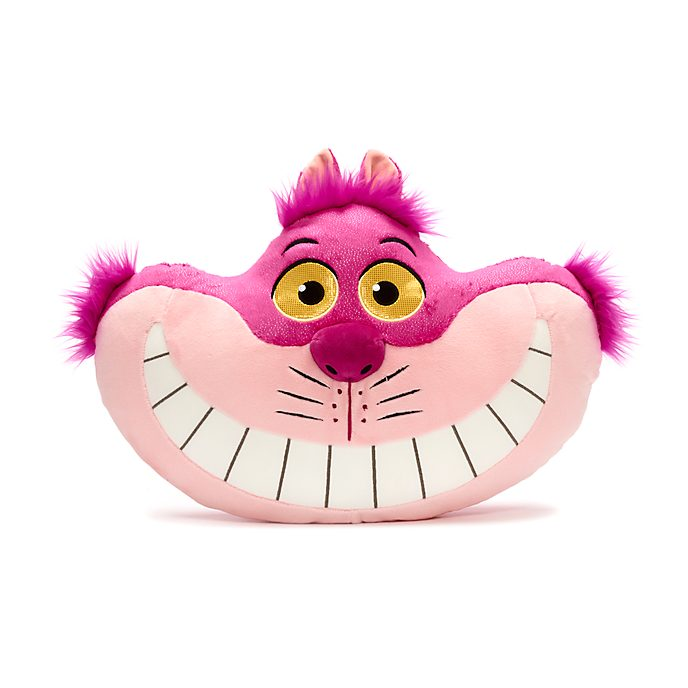 Disney Store Cheshire Cat Big Face Cushion