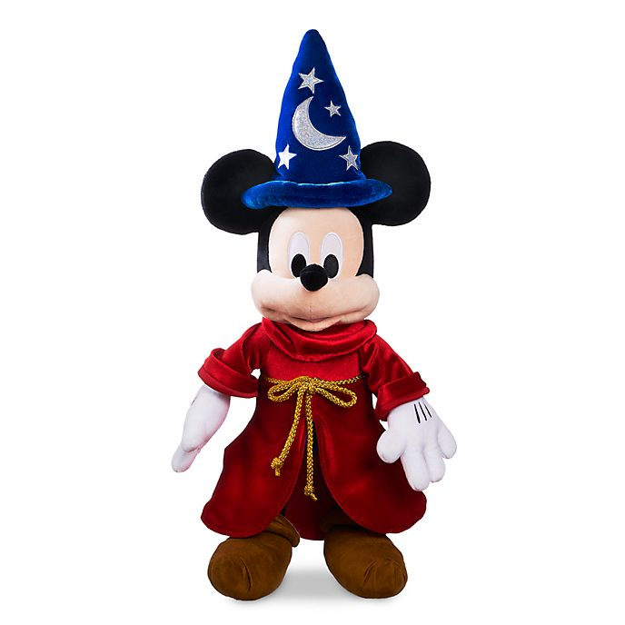 Disney Store Mickey Mouse Sorcerer's Apprentice Large Soft Toy