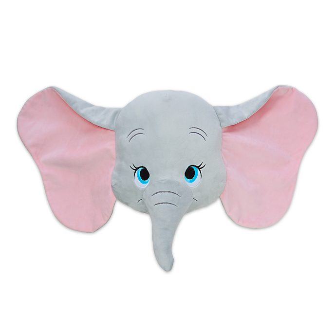 Disney Store Dumbo Big Face Cushion