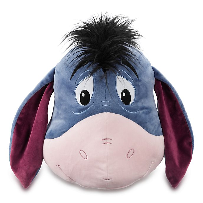 Disney Store Eeyore Big Face Cushion