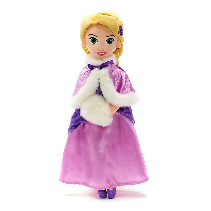 Muñeca peluche vestido invierno Rapunzel, Disney Store