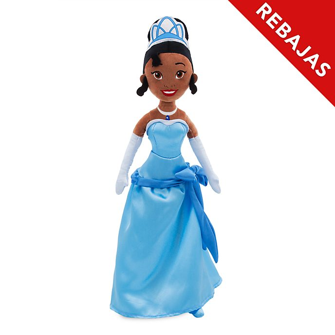Muñeca peluche Tiana 10.º aniversario, Disney Store