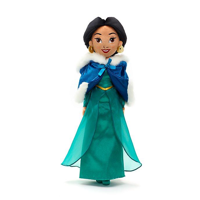 Bambola di peluche Jasmine versione invernale Disney Store