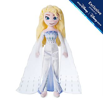Disney Store Elsa the Snow Queen Soft Toy Doll, Frozen 2