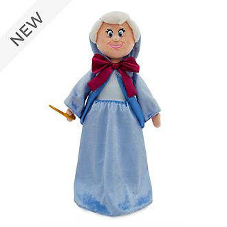 Disney Store Fairy Godmother Soft Toy Doll, Cinderella