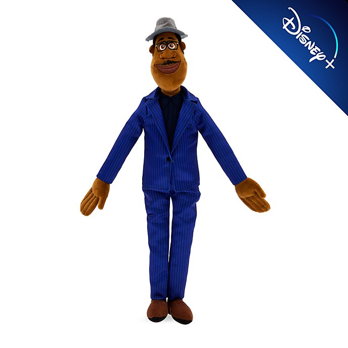Muñeco de peluche parlante, Joe Gardner, Soul, Disney Store