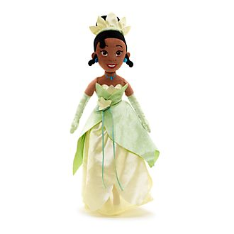 Muñeca peluche Tiana, Tiana y el Sapo, Disney Store