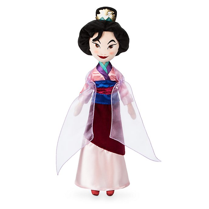 Disney Store Mulan Soft Toy Doll