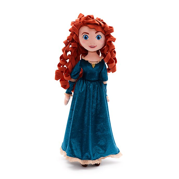 Disney Store Merida Soft Toy Doll