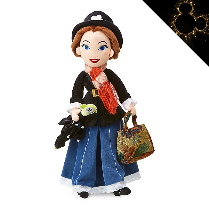Disney Store Mary Poppins Soft Toy Doll