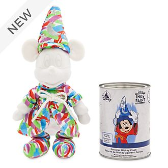 Disney Store Sorcerer's Apprentice Ink & Paint Mystery Soft Toy