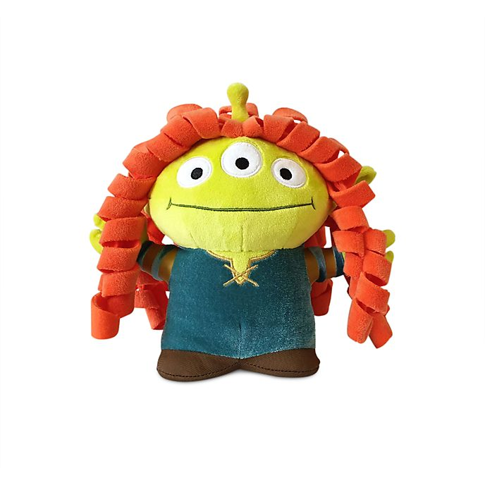 Disney Store Merida Alien Remix Medium Soft Toy