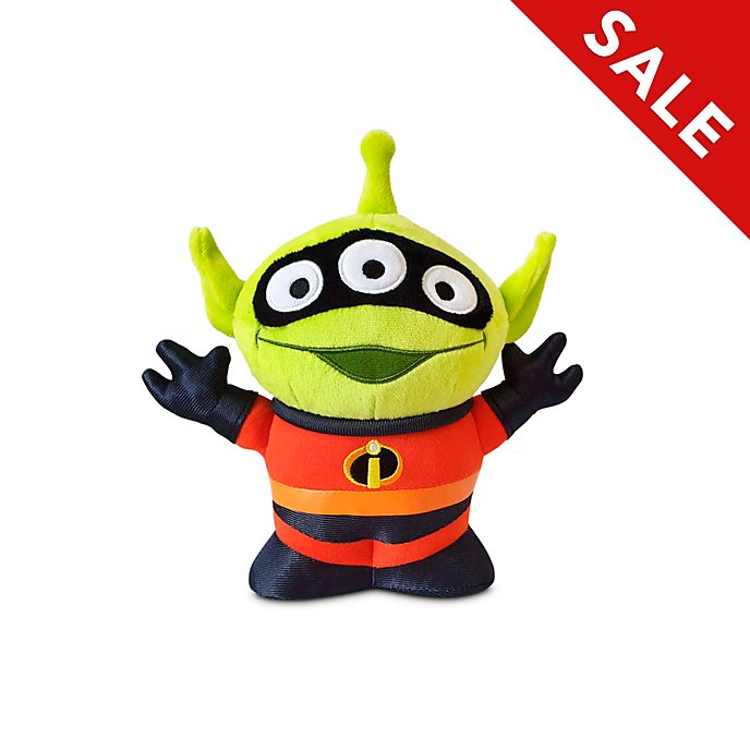 Disney Store Mr. Incredible Alien Remix Medium Soft Toy