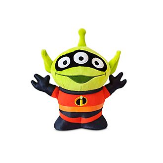 Disney Store Peluche moyenne M. Indestructible Alien Remix