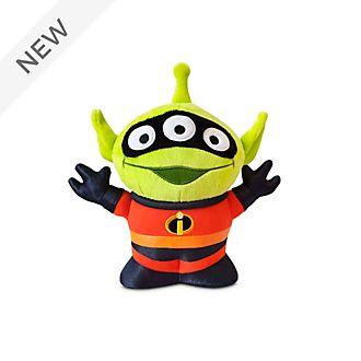 Disney Store Mr. Incredible Alien Remix Medium Soft Toy