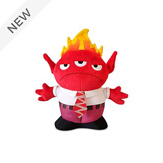 Disney Store Anger Alien Remix Medium Soft Toy