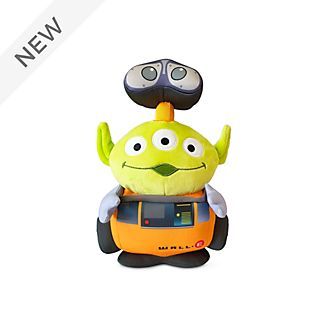 Disney Store WALL-E Alien Remix Medium Soft Toy