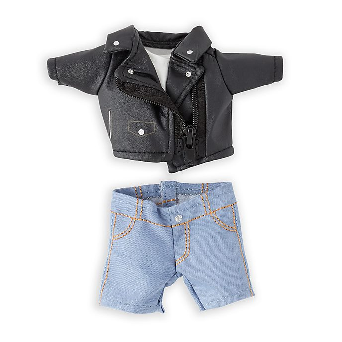 Disney Store nuiMOs Small Soft Toy Biker Jacket and Jeans Set