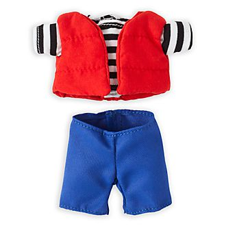 Disney Store nuiMOs Small Soft Toy Puffer Jacket and Jeans Set
