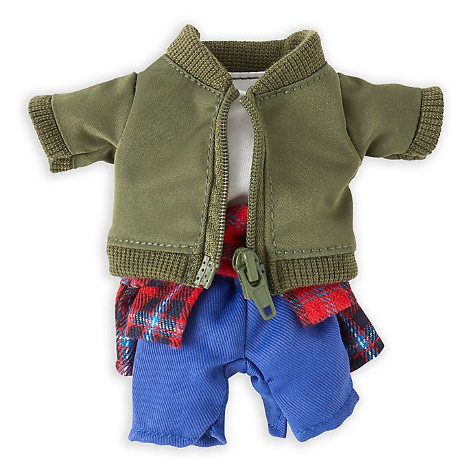 Disney Store nuiMOs Small Soft Toy Bomber Jacket and Trousers Set
