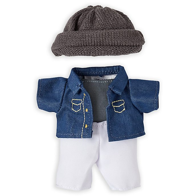 Disney Store nuiMOs Small Soft Toy Denim Shirt and Trousers Set