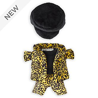 Disney Store nuiMOs Small Soft Toy Animal Print Outfit Set
