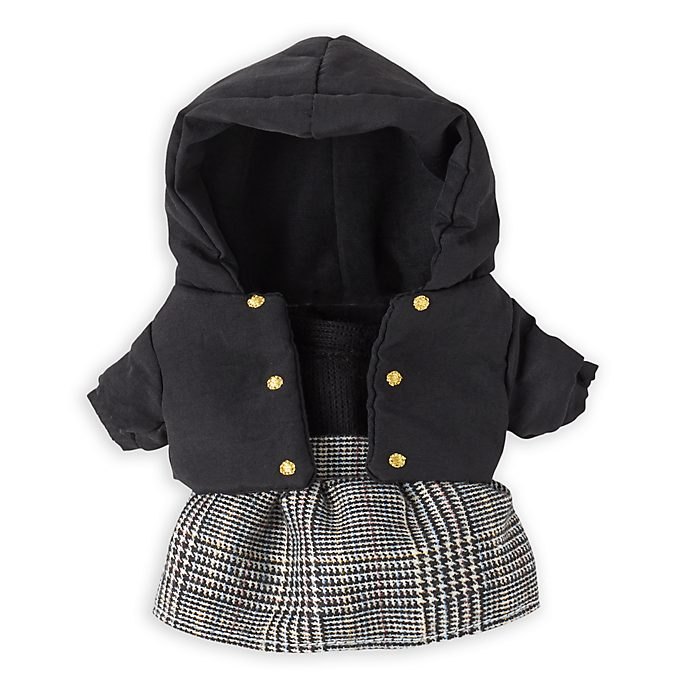 Disney Store nuiMOs Small Soft Toy Hooded Jacket and Skirt Set
