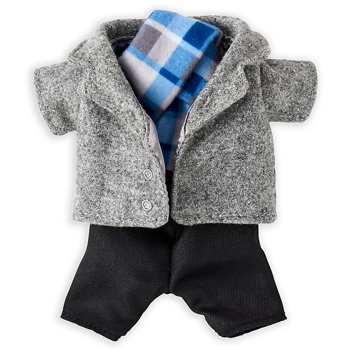 Disney Store nuiMOs Small Soft Toy Long Jacket and Scarf Set
